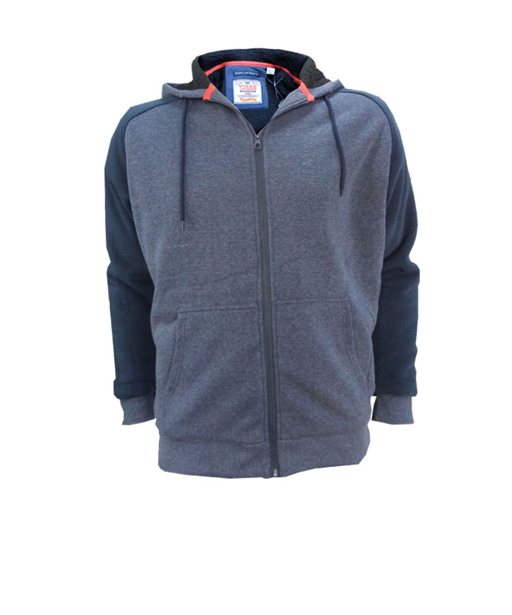 armstrong sherpa lined full zip hoody