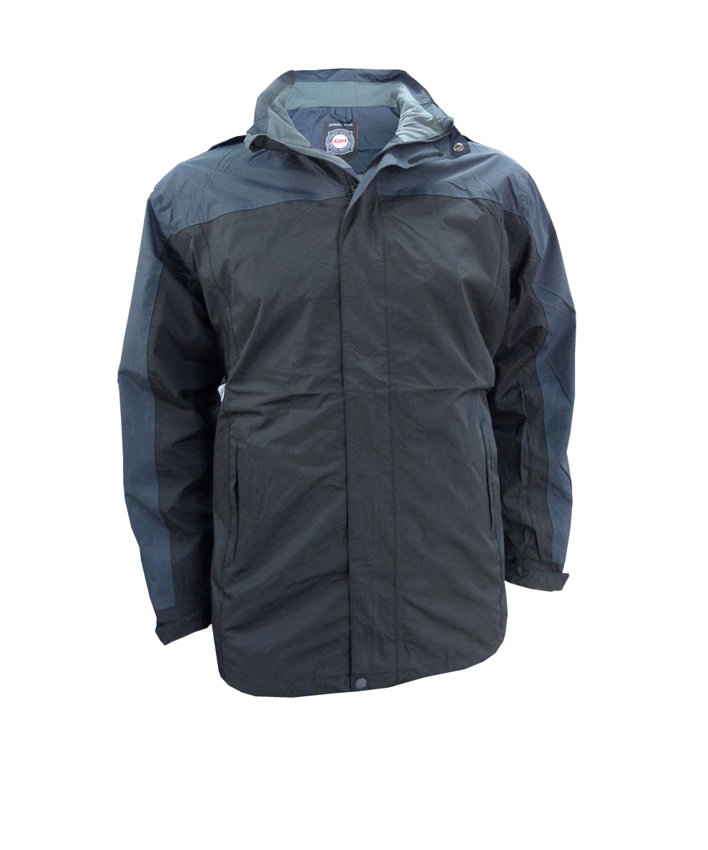 contrast showerproof jacket