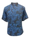 hawaiian print polo shirt