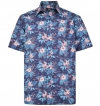 cotton valley printed flower short sleeved sh