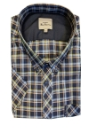 ben sherman signature check short sleeve shir