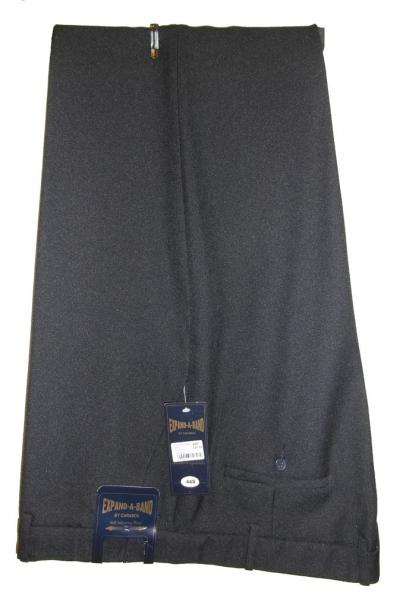 carabou expand waist trousers navy