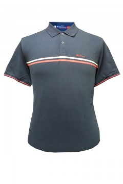 retro sport tipped pique polo shirt
