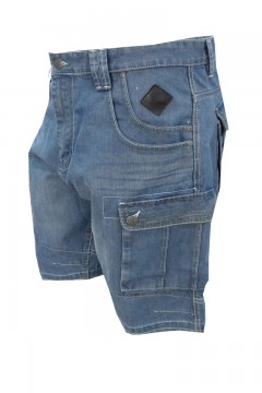 sebastian cargo denim shorts