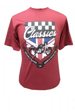 classic motorcycles t-shirt