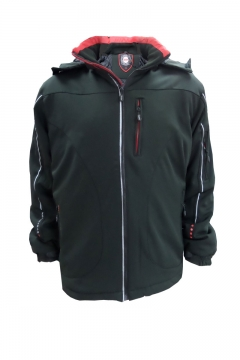 Big mans coat soft shell water repellent
