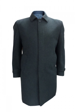 big mens wool blend coat