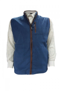 polar fleece gilet