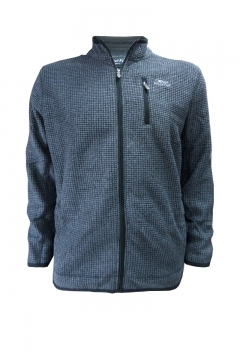 rossten full zip grid fleece