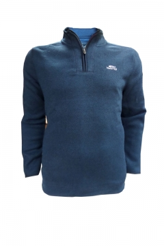 stowe 1/4 zip soft knit fleece