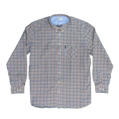ben sherman long sleeved multi coloured oxford shirt