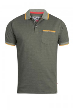 d555 martel couture striped polo shirt