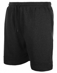 espionage cut and sew fleece jogging shorts