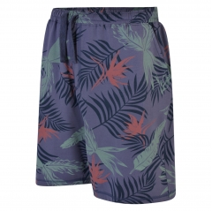 espionage floral print shorts