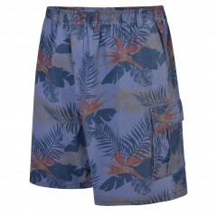 espionage floral cargo shorts