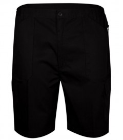 carabou gas cargo shorts black