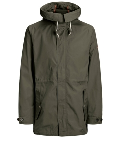 big mens parka olive green